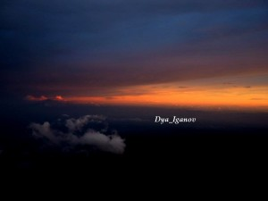 sunset-merbabu